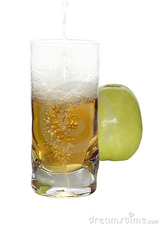 Freshness apple s juice
