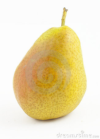 Freshness pear on white
