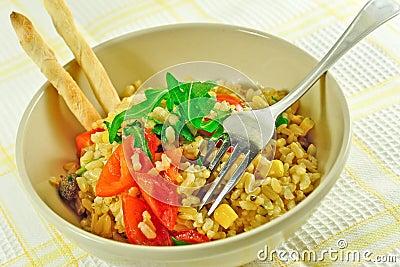 Freshness rice dish