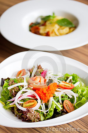 Freshness Salmon Salad