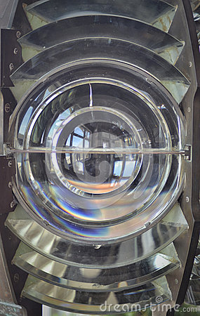 Fresnel Lens, from a lighthouse