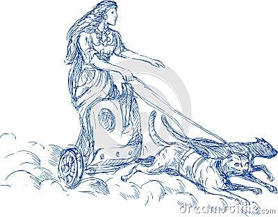 Freya Norse goddess