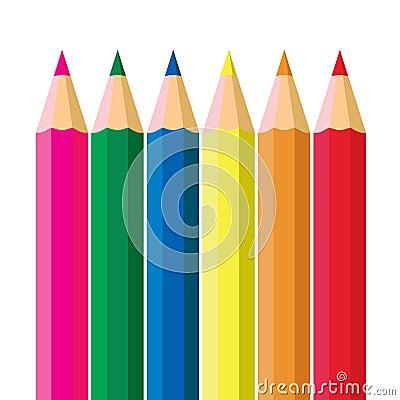 Färgblyertspenna