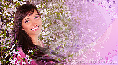 Frühlingsfrauencollage