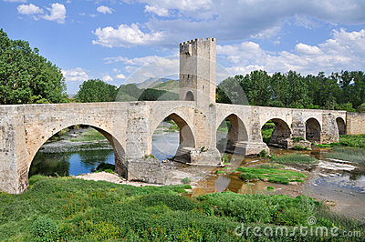Frias bridge, Burgos (Spain)