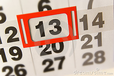 Friday 13th thirteen