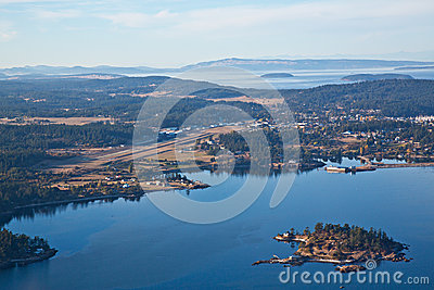Friday Harbor Airport and Dinner Island