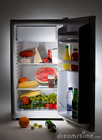 Free Fridge Royalty Free Stock Image - 10774986