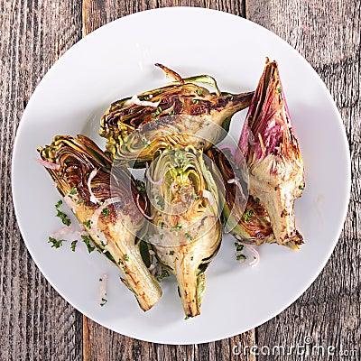 Free Fried Artichoke Stock Photo - 51630430