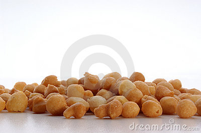 Fried batter pearls