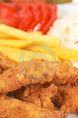 Free Fried Chicken Stock Photography - 767672