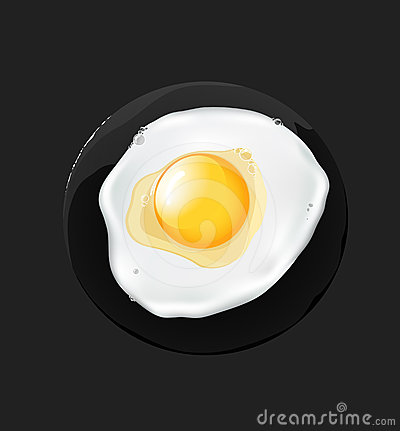 Fried egg,
