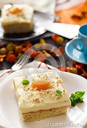 Free Fried Egg Cake Stock Photography - 19039772
