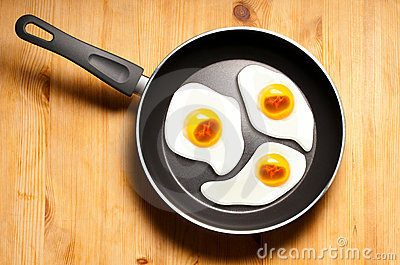 Fried eggs of embryos