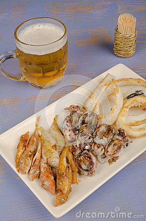 Fried fish, Spanish tapa