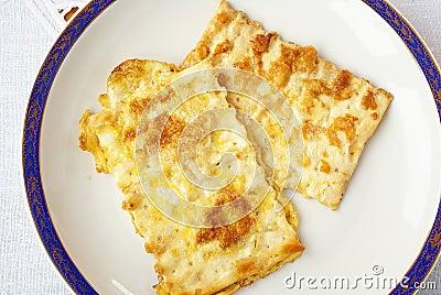 Fried matzah