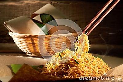 Fried Mee Hoon Noodle
