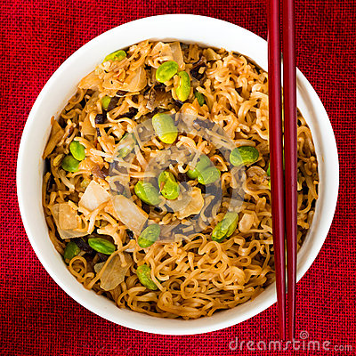 Free Fried Noodle Asian Food Royalty Free Stock Photography - 37259917