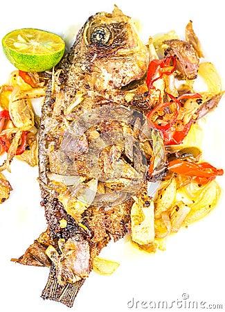 Free Fried Pickle Fish IX Stock Photo - 35188700
