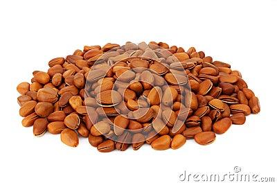 Fried pine nut