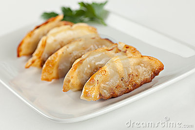 Fried Pot stickers, Dumplings