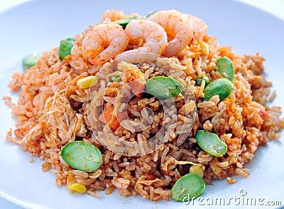 Fried rice asia food