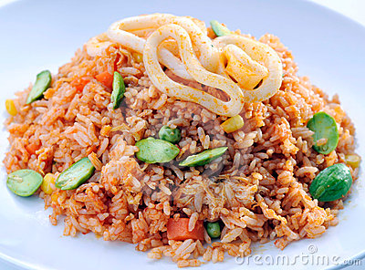 Fried rice asia food