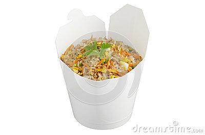 Fried rice take out