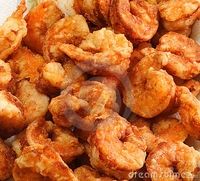Free Fried Shrimp Stock Photos - 3450273
