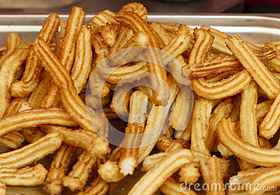 Fried Spanish Churros