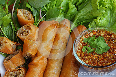 Fried spring roll pastry