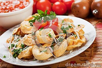 Fried tortellini