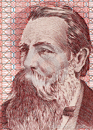 Friedrich Engels Editorial Stock Image