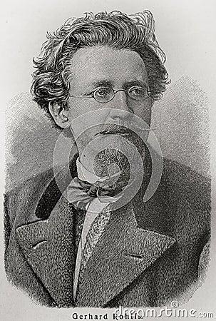 Friedrich Gerhard Rohlfs Editorial Image