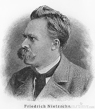 Friedrich Nietzsche Editorial Stock Image