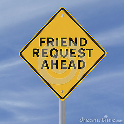 Friend Request Ahead