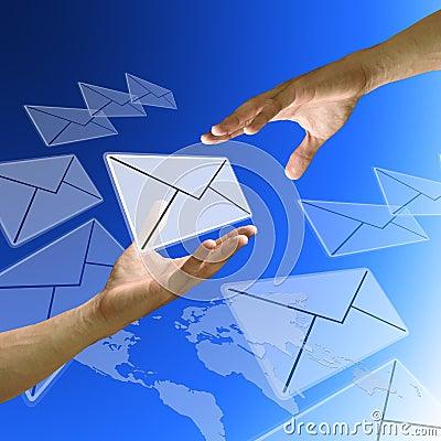Friend send email