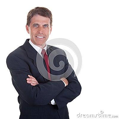 Friendly Businessman