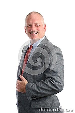 Friendly Businessman - Formal