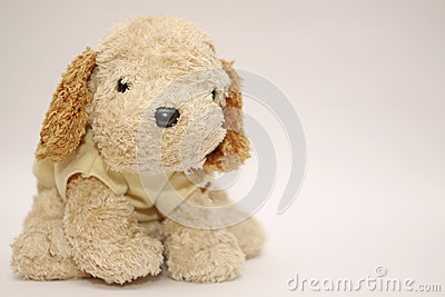 Friendly And Cheerful Dog Doll Stock Image - Image: 29494661