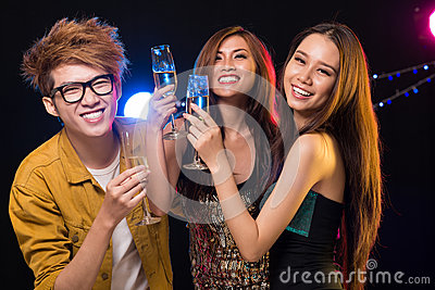 Friendly clubbing