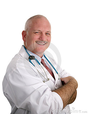 Friendly Compassionate Doctor