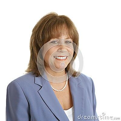 Free Friendly Female Executive Royalty Free Stock Image - 1163446