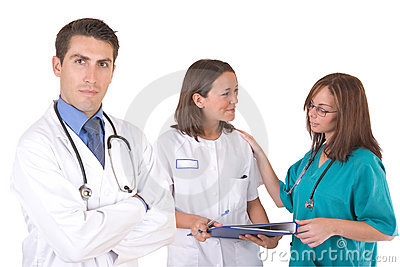Friendly medical team - Healthcare workers