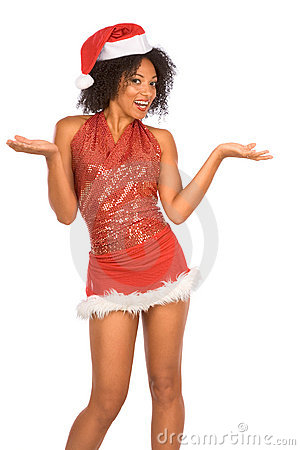 Friendly Mrs. Santa