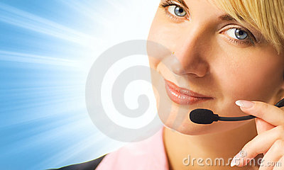 Friendly phone operator