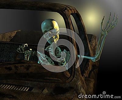 Friendly Skeleton Driver