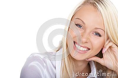 Friendly smile