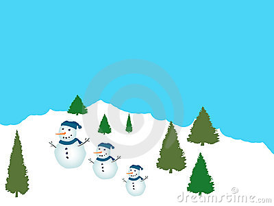 Friendly Snowpeople
