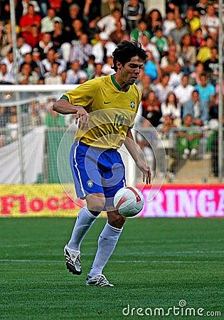 Friendly soccer match Brasil vs Algeria Editorial Photo